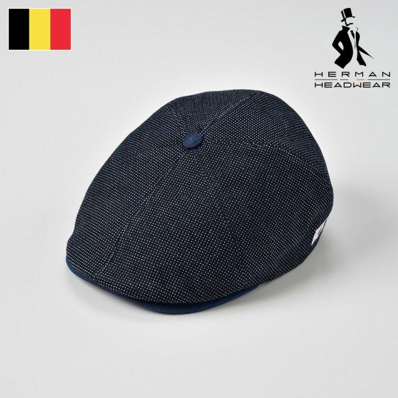 帽子 ハンチング HERMAN(ヘルマン) AIZOME COTTON 008(藍染 コットン 008 )インディゴ