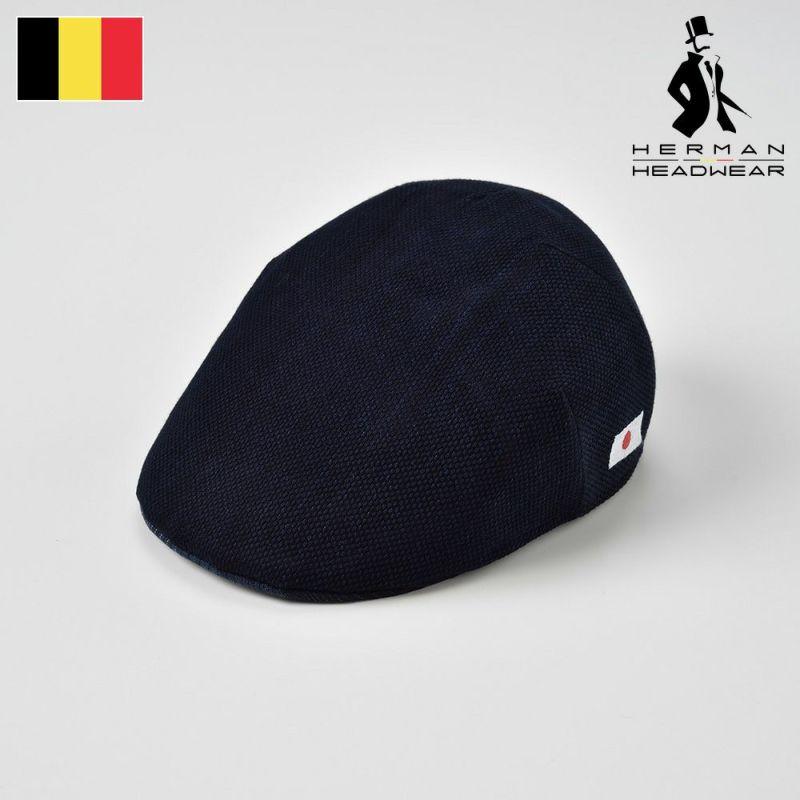帽子 ハンチング HERMAN(ヘルマン) AIZOME COTTON 004(藍染 コットン 004 )インディゴ