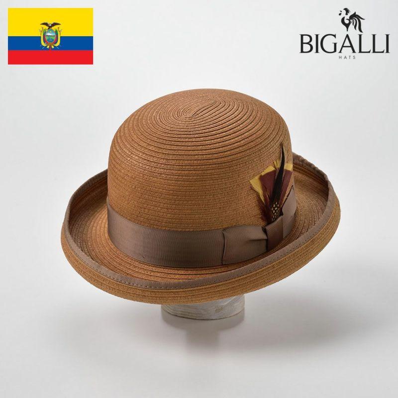 帽子 ブレードハット BIGALLI(ビガリ) KANYE BRAID(カニエ ブレード)ベージュ