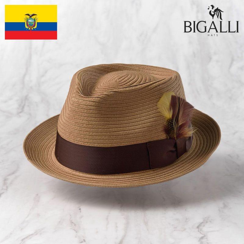 帽子 ブレードハット BIGALLI(ビガリ) ALESSANDRO BRAID(アレッサンドロ ブレード)ベージュ