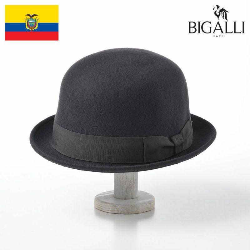 帽子 フェルトハット BIGALLI(ビガリ) RONDA(ロンダ)ダークグレー