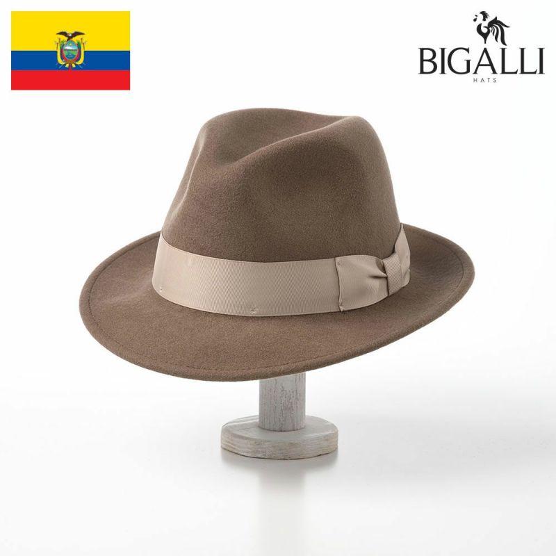 帽子 フェルトハット BIGALLI(ビガリ) AVANTE(アバンテ)カーキ