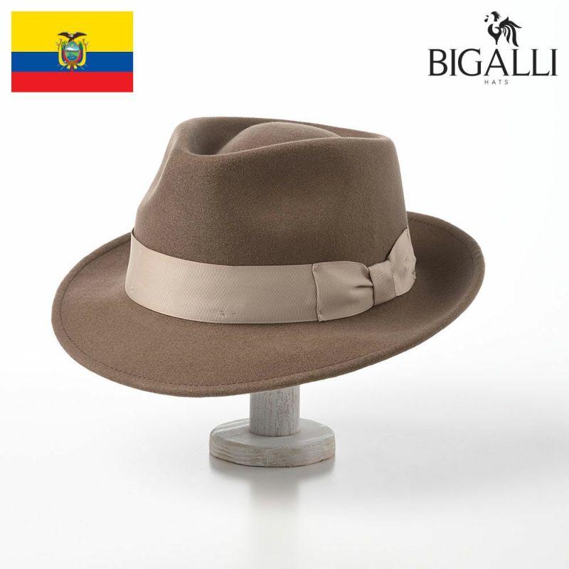 帽子 フェルトハット BIGALLI(ビガリ) PLOMO(プロモ)カーキ