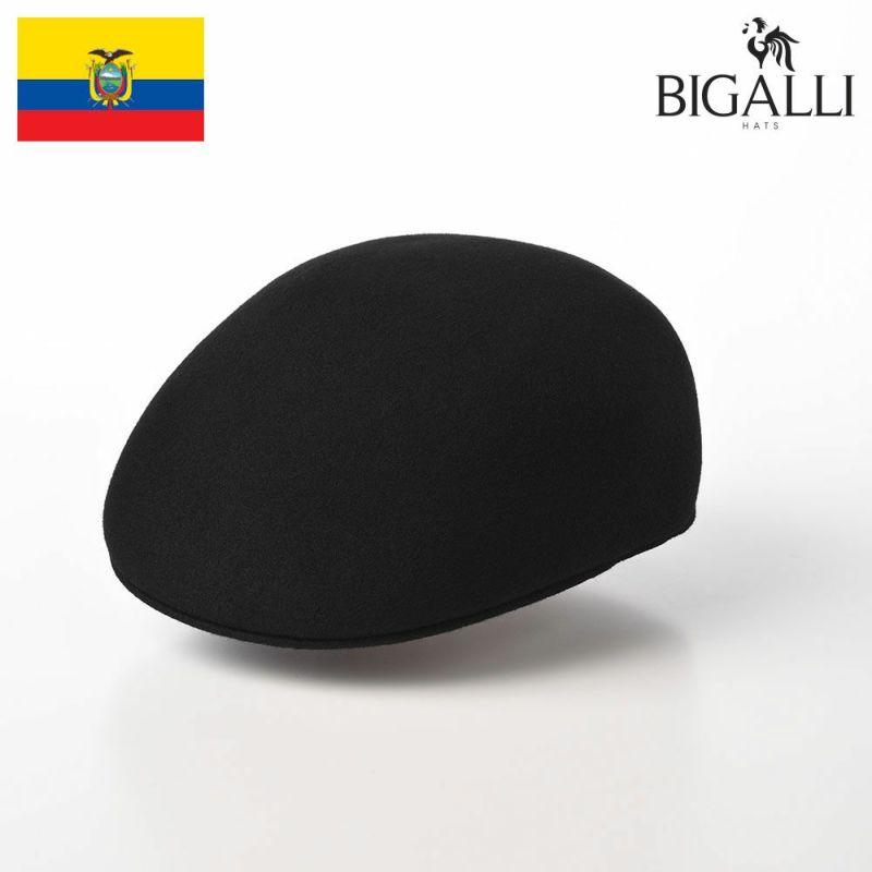 帽子 フェルトハット BIGALLI(ビガリ) PLANETA(プラネタ)ブラック