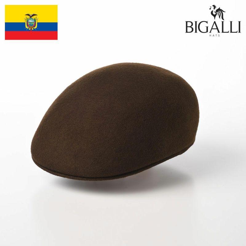帽子 フェルトハット BIGALLI(ビガリ) PLANETA(プラネタ)チョコレート