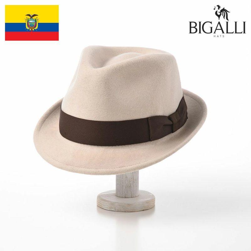 帽子 フェルトハット BIGALLI(ビガリ) RICARDO(リカルド)クリーム