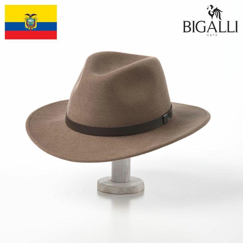 帽子 フェルトハット BIGALLI(ビガリ) SALVADOR(サルバドール)カーキ