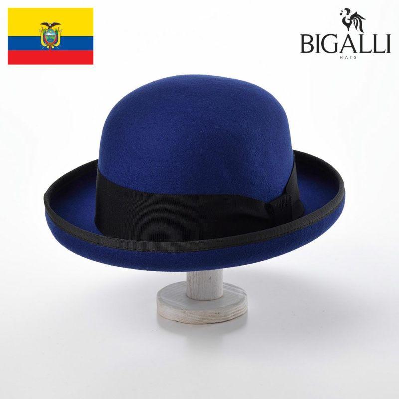 帽子 フェルトハット BIGALLI(ビガリ) DONATELLA(ドナテラ)ブルー