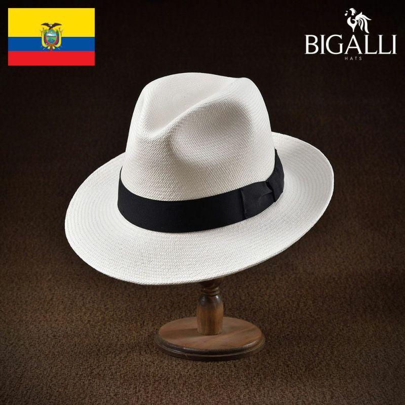 帽子 パナマハット BIGALLI(ビガリ) TEATRO(テアトロ)ホワイト