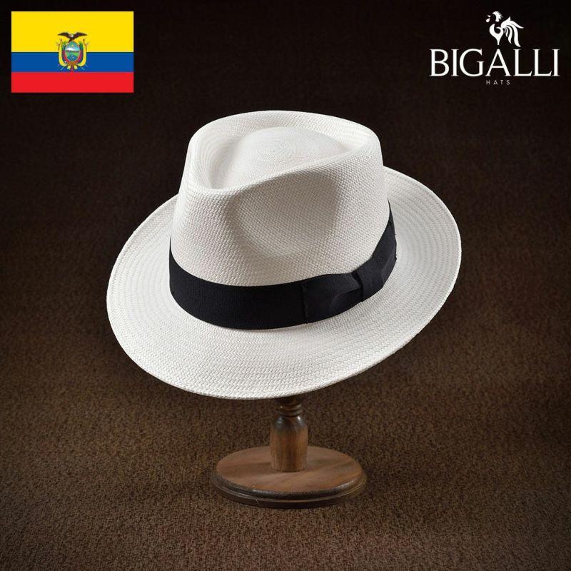帽子 パナマハット BIGALLI(ビガリ) PANTALLA(パンタージャ)ホワイト