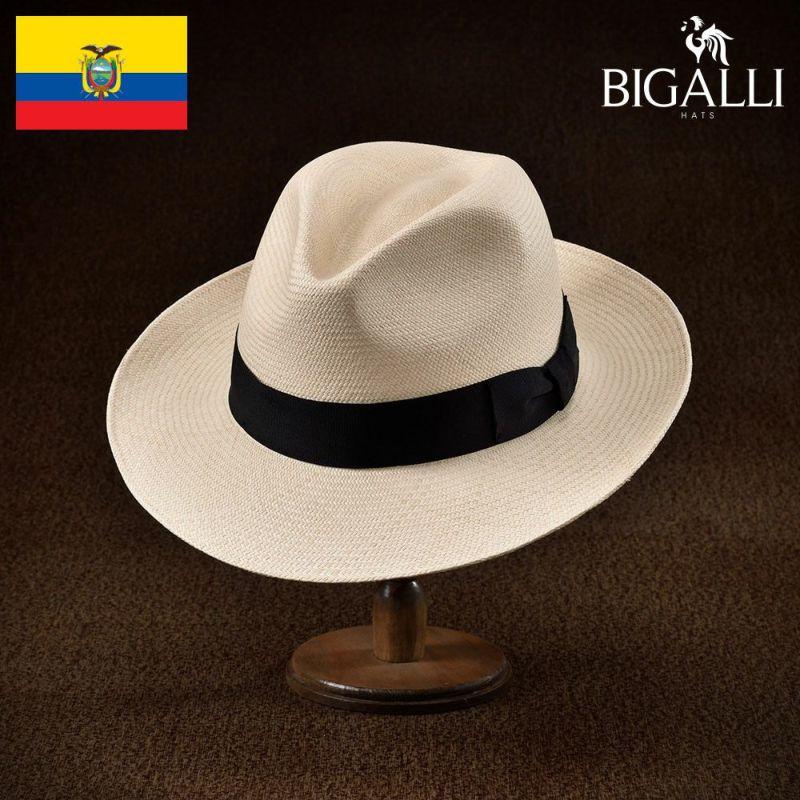 帽子 パナマハット BIGALLI(ビガリ) ESTRENO(エストレーノ)ナチュラル