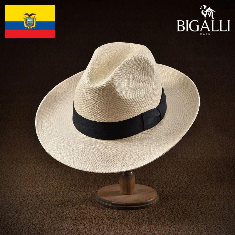 帽子 パナマハット BIGALLI(ビガリ) ACTOR(アクトール)ナチュラル