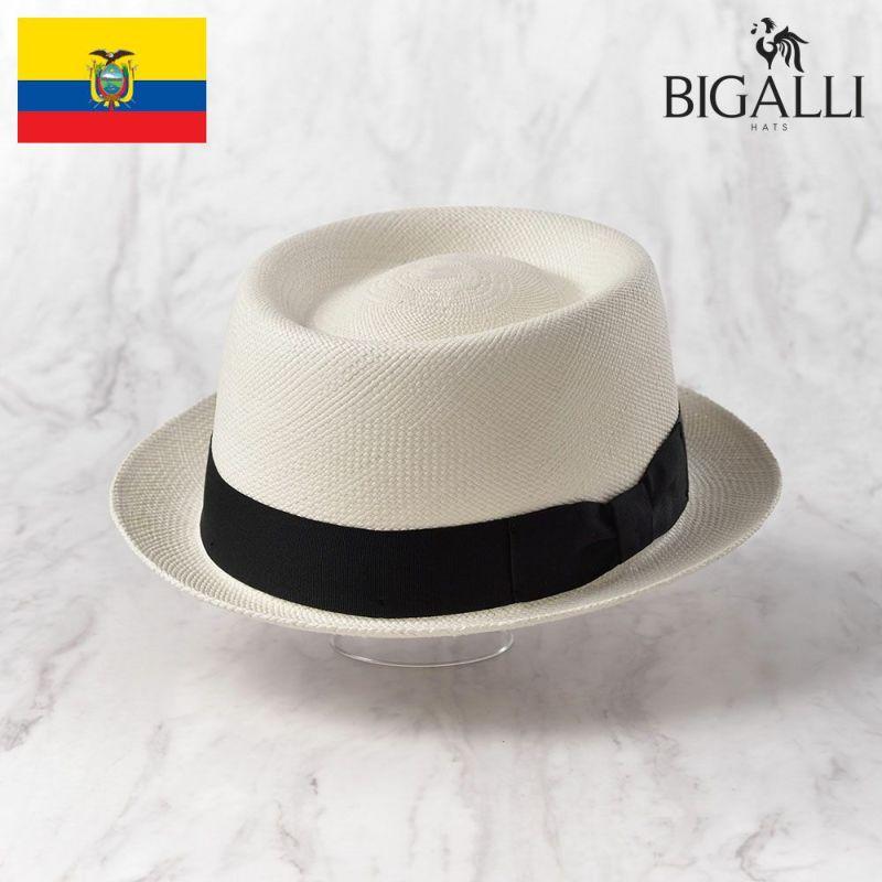 帽子 パナマハット BIGALLI(ビガリ) REDONDO(レドンド)ホワイト
