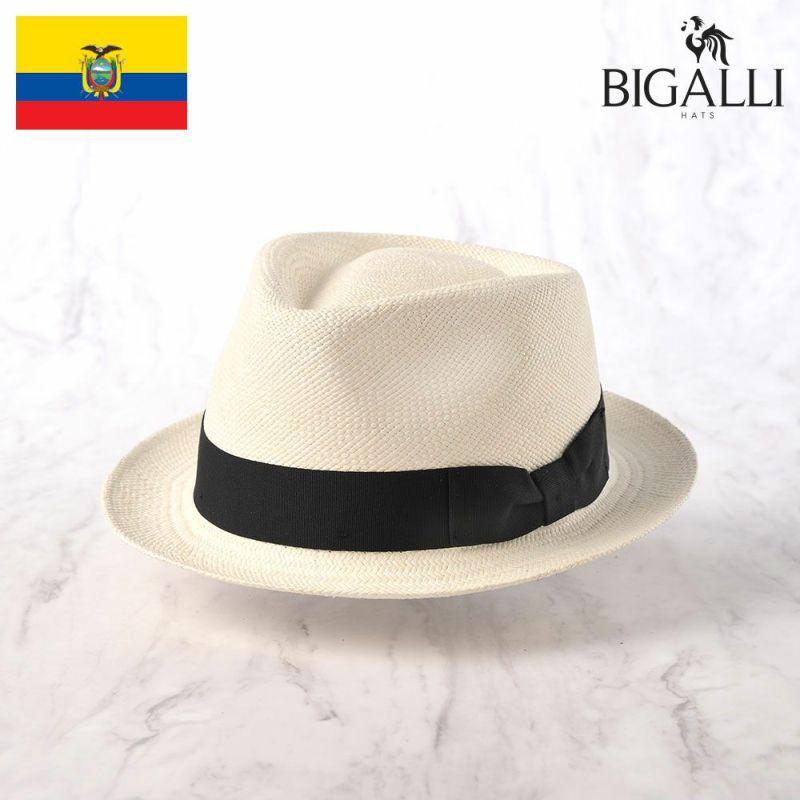 帽子 パナマハット BIGALLI(ビガリ) BOSTON(ボストン)ナチュラル