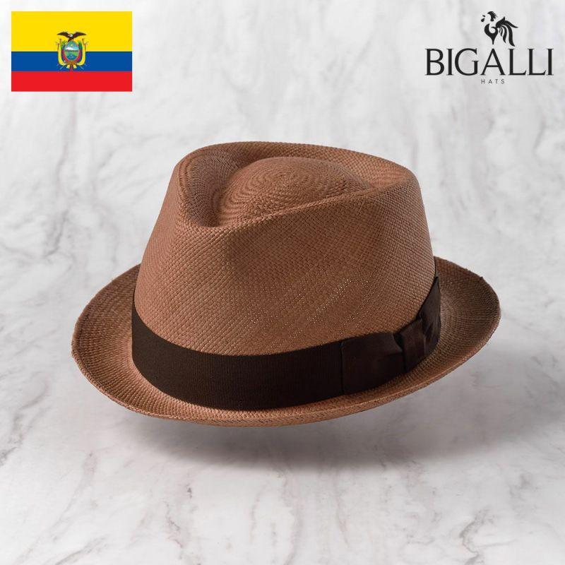 帽子 パナマハット BIGALLI(ビガリ) BOSTON(ボストン)プティ
