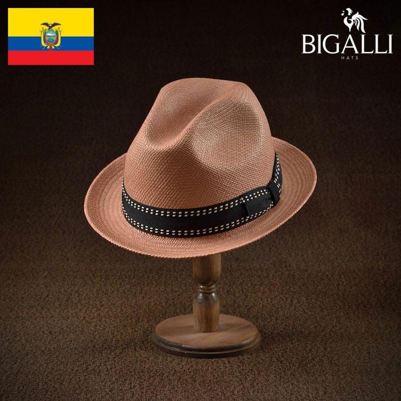 帽子 パナマハット BIGALLI(ビガリ) MADERA(マデラ)プティ