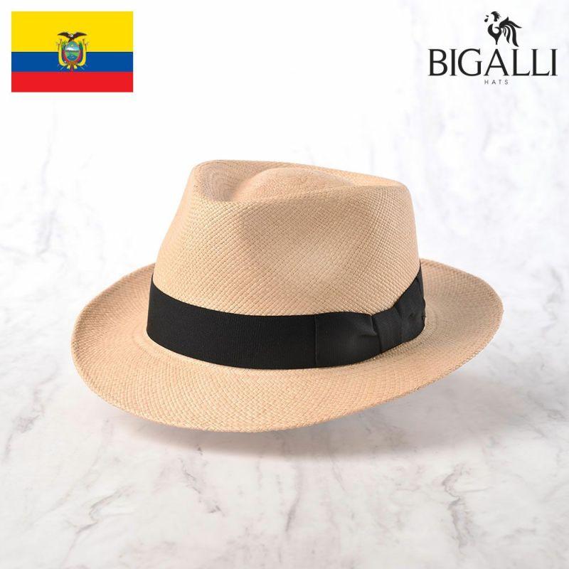 帽子 パナマハット BIGALLI(ビガリ) QUICKSTEP PANAMA(クイックステップ パナマ)ベージュ