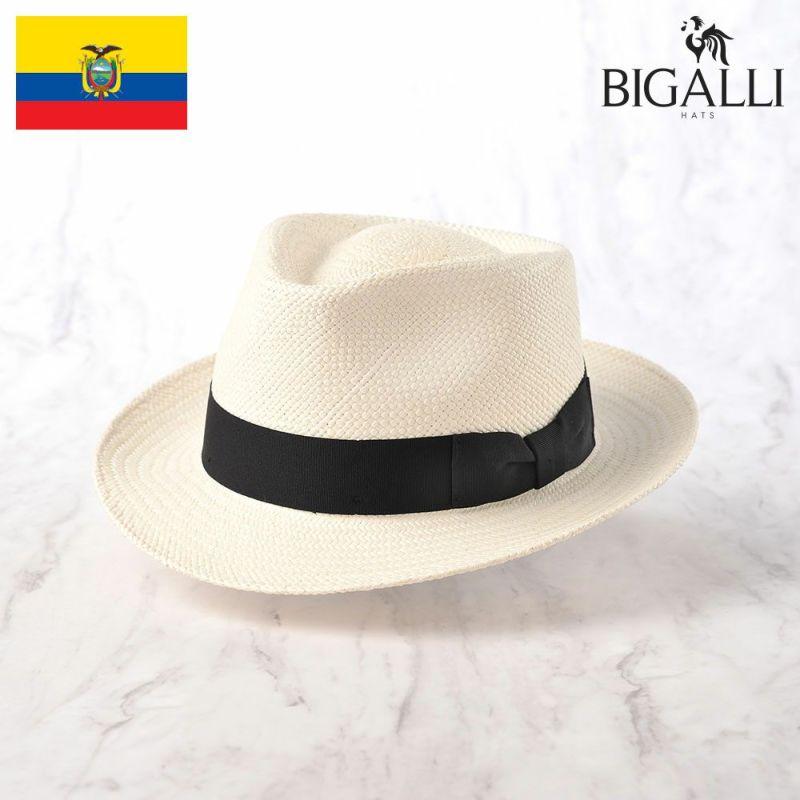 帽子 パナマハット BIGALLI(ビガリ) QUICKSTEP PANAMA(クイックステップ パナマ)ホワイト