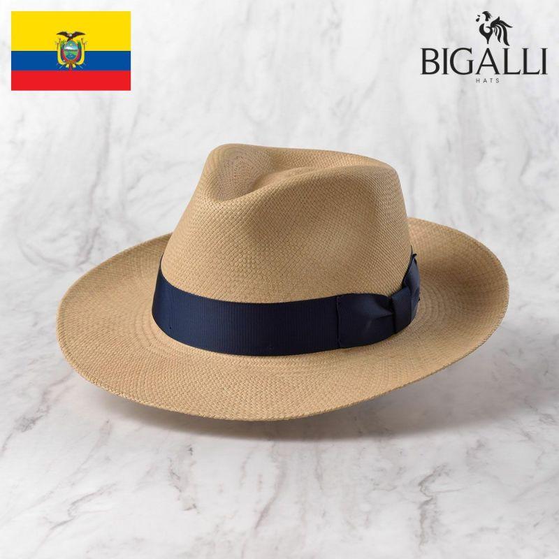帽子 パナマハット BIGALLI(ビガリ) SANTORINI(サントリーニ)ベージュ
