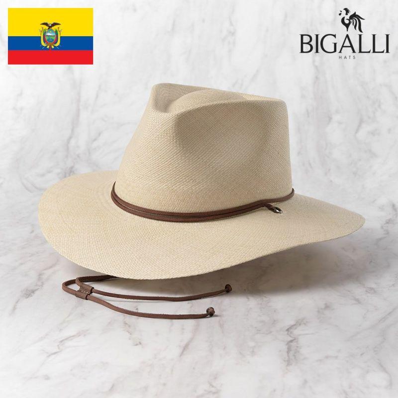 帽子 パナマハット BIGALLI(ビガリ) KALAHARI(カラハリ)ナチュラル