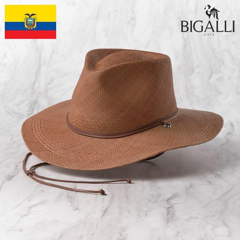 帽子 パナマハット BIGALLI(ビガリ) KALAHARI(カラハリ)プティ