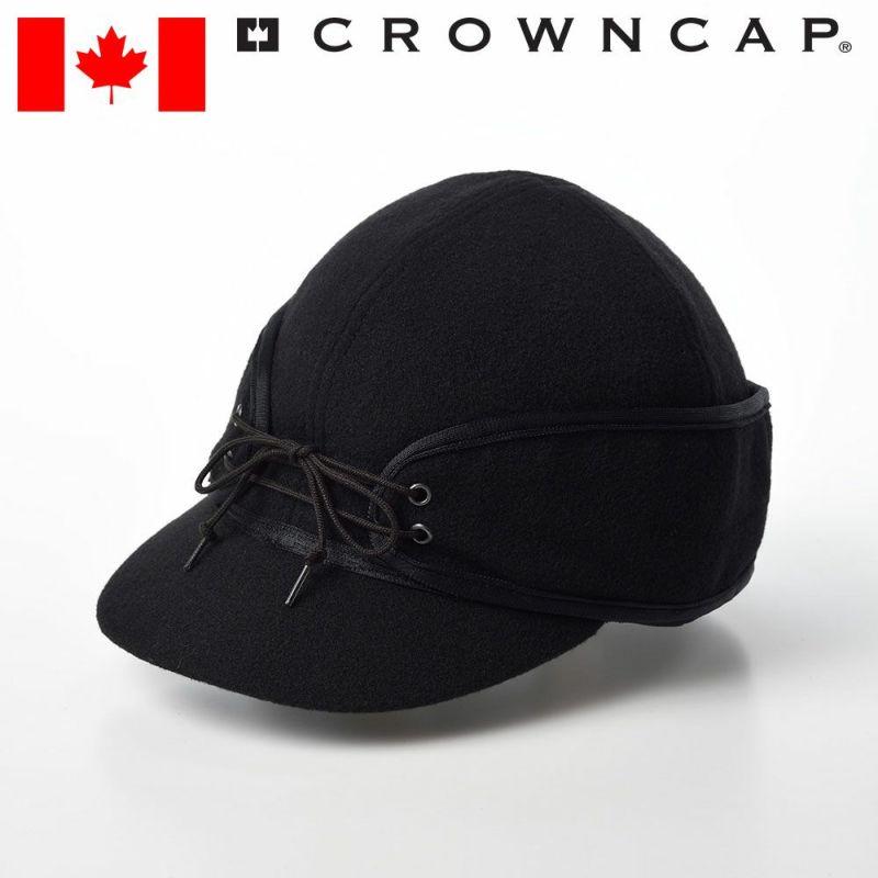 帽子 キャップ CROWNCAP(クラウンキャップ) Classic Railroad Cap(クラシック レールロードキャップ)ブラック