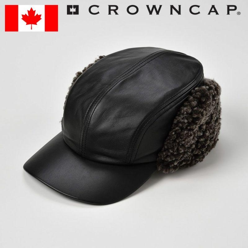 帽子 キャップ CROWNCAP(クラウンキャップ) NAVIGATOR(ナビゲーター)ブラック