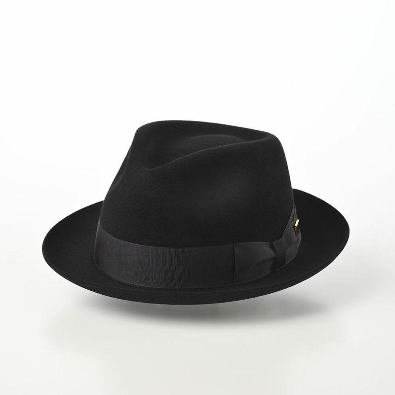 Rabbit Fur Fedora Hat(ラビットファー フェドラハット)KMC ブラック