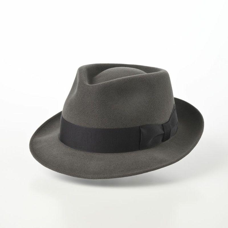 Rabbit Fur Trilby Hat(ラビットファー トリルビーハット)KPK ダークグレー