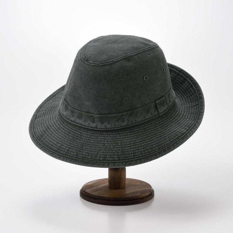COTTON MANISH HAT(コットン マニッシュ ハット)MI1801 ブラック
