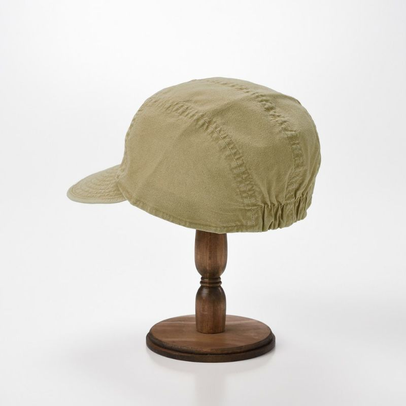 WASHED COTTON CAP(ウォッシュド コットン キャップ)MI1802 ベージュ