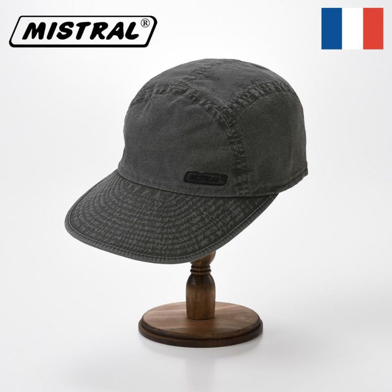 帽子 キャップ Mistral(ミストラル) WASHED COTTON CAP(ウォッシュド コットン キャップ)MI1802 ブラック
