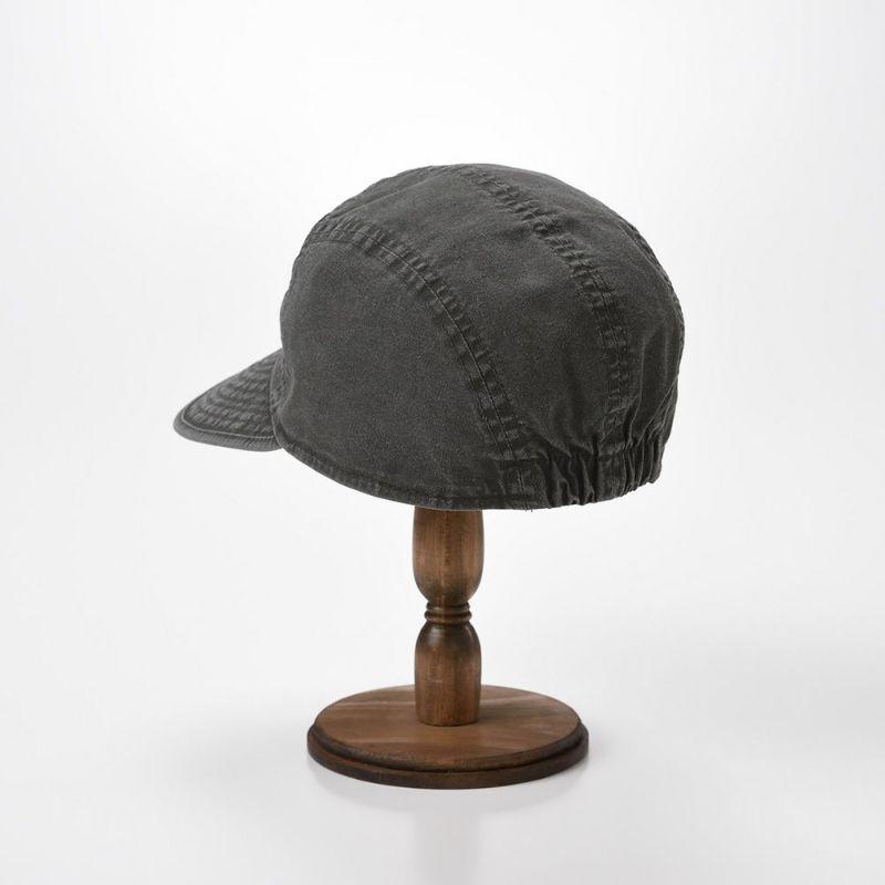 WASHED COTTON CAP(ウォッシュド コットン キャップ)MI1802 ブラック