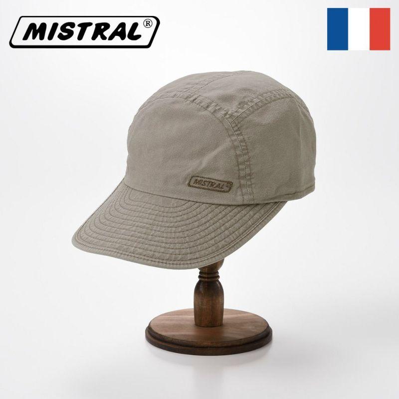 帽子 キャップ Mistral(ミストラル) WASHED COTTON CAP(ウォッシュド コットン キャップ)MI1802 グレイジ