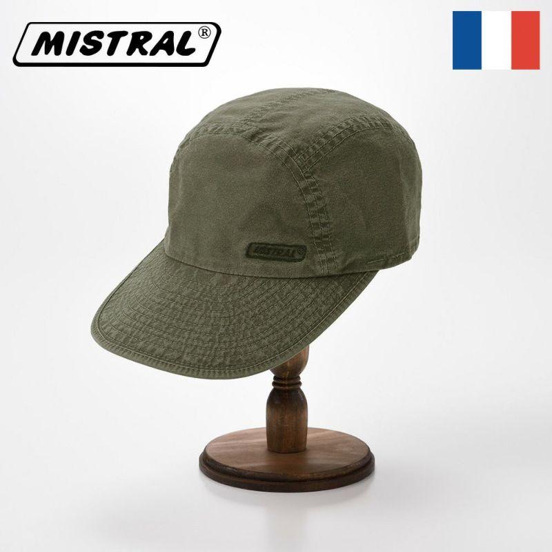 帽子 キャップ Mistral(ミストラル) WASHED COTTON CAP(ウォッシュド コットン キャップ)MI1802 カーキ
