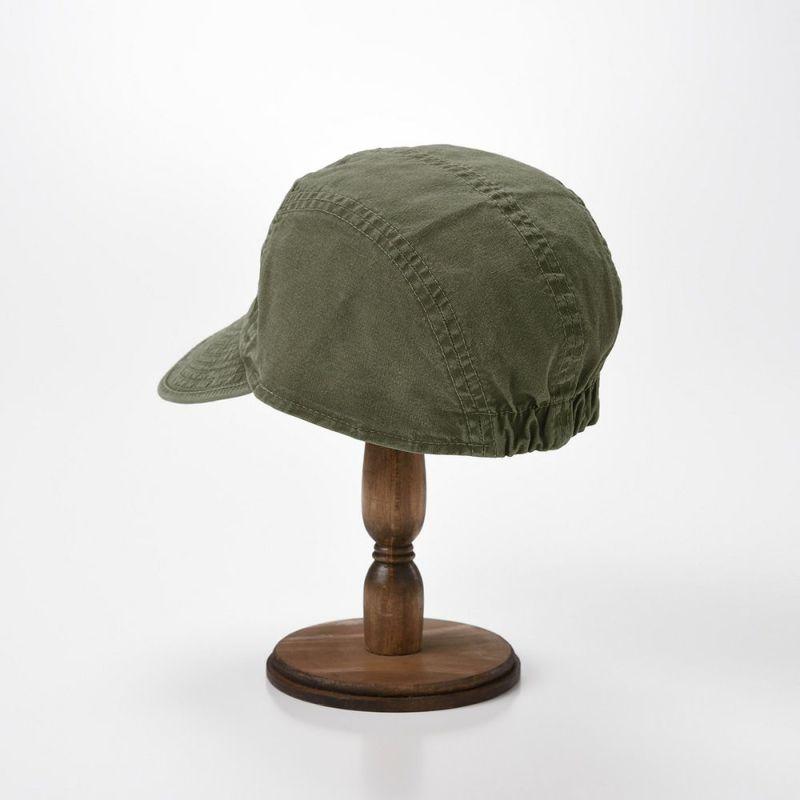 WASHED COTTON CAP(ウォッシュド コットン キャップ)MI1802 カーキ