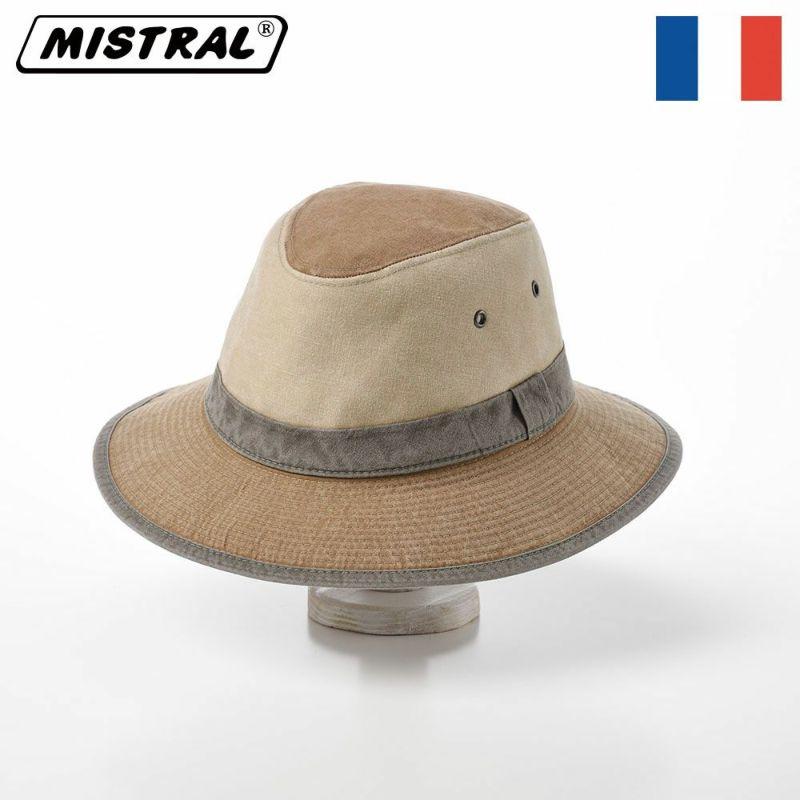 帽子 サファリハット Mistral(ミストラル) COTTON SAFARI HAT(コットン サファリ ハット)MI1601 キャメル