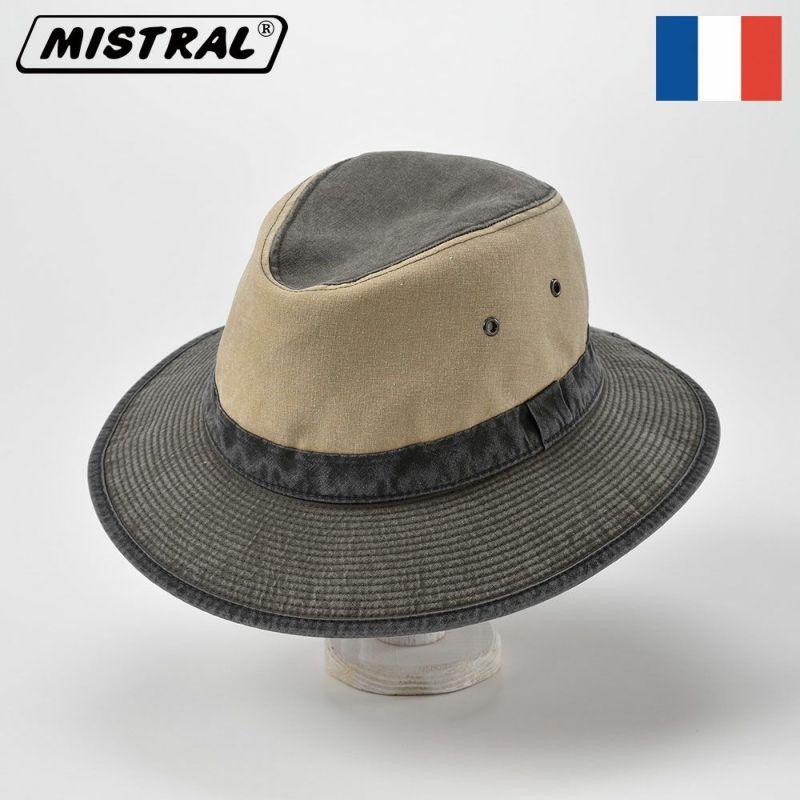帽子 サファリハット Mistral(ミストラル) COTTON SAFARI HAT(コットン サファリ ハット)MI1601 カーキ