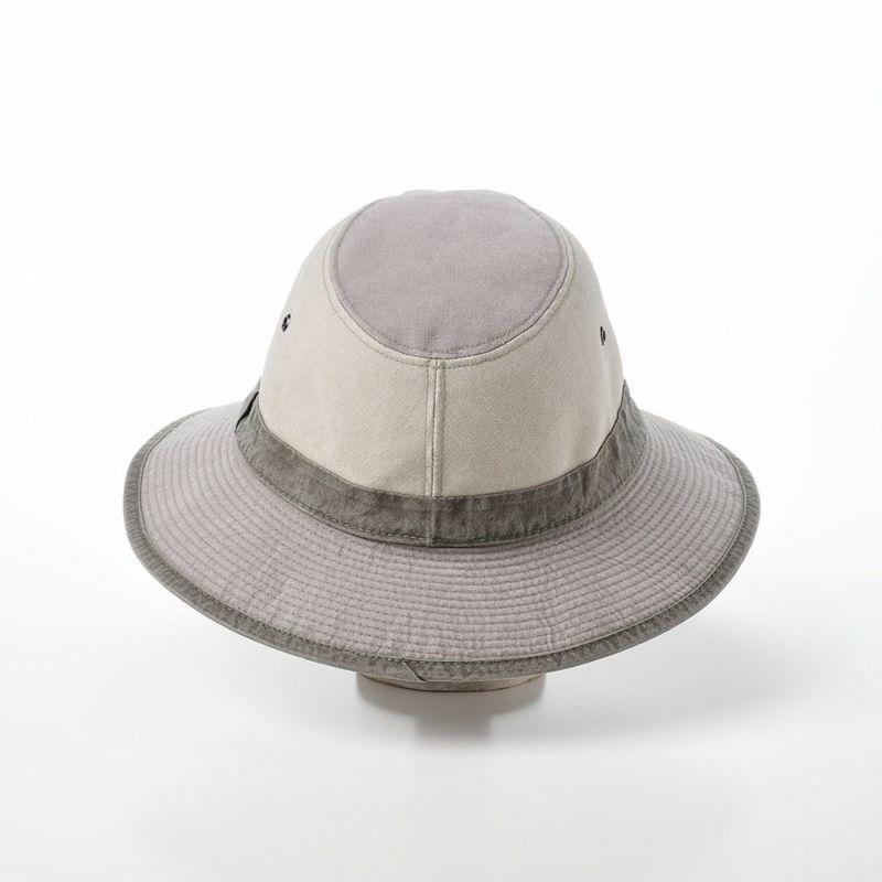 COTTON SAFARI HAT(コットン サファリ ハット)MI1601 ライトグレー