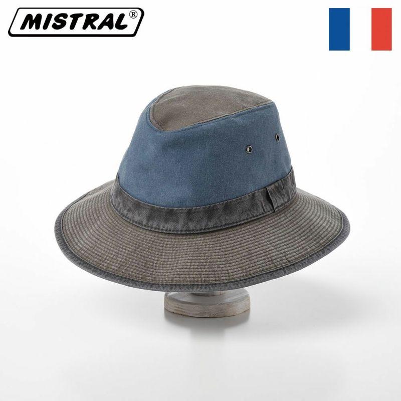 帽子 サファリハット Mistral(ミストラル) COTTON SAFARI HAT(コットン サファリ ハット)MI1601 ネイビー