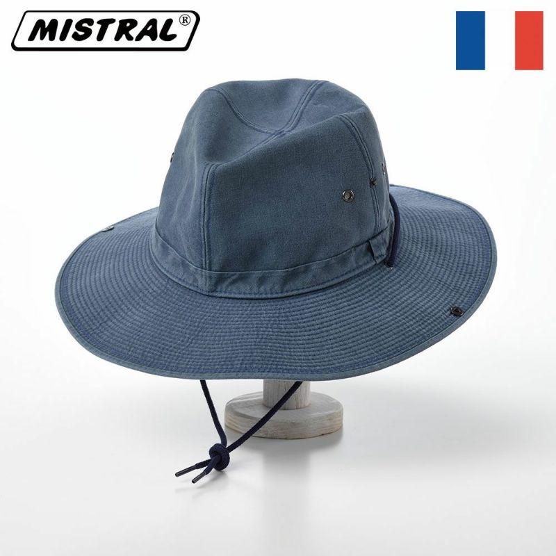 帽子 サファリハット Mistral(ミストラル) COTTON ADVENTURE HAT(コットン アドベンチャー ハット)MI1604 ネイビー