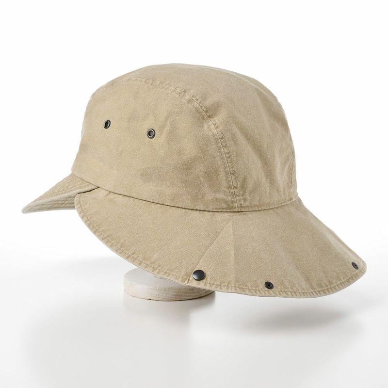 COTTON HAVELOCK CAP(コットン ハブロック キャップ)MI1610 ベージュ