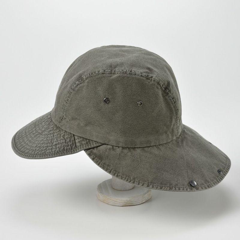 COTTON HAVELOCK CAP(コットン ハブロック キャップ)MI1610 カーキ