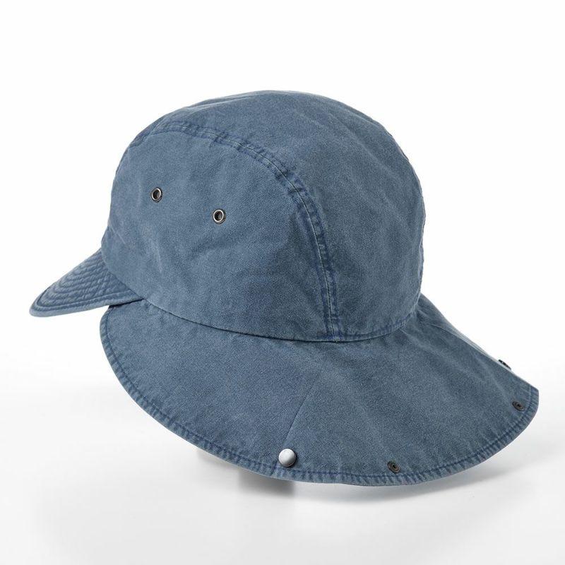 COTTON HAVELOCK CAP(コットン ハブロック キャップ)MI1610 ネイビー