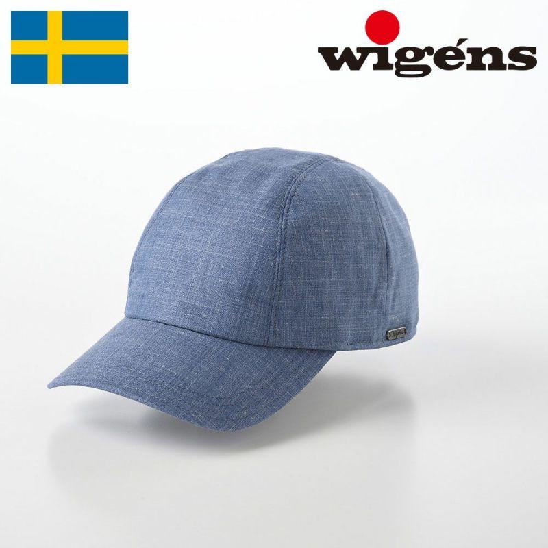 帽子 キャップ Wigens(ヴィゲーンズ) Baseball Cap(ベースボールキャップ)W120300 ブルー