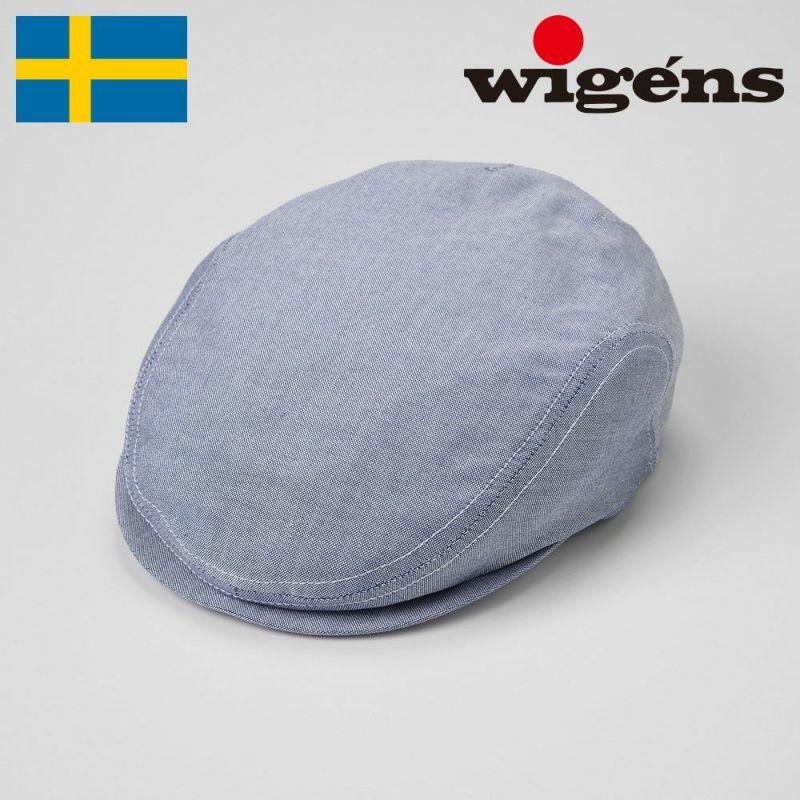 帽子 ハンチング Wigens(ヴィゲーンズ) Ivy Slim Cap(アイビー スリム キャップ)W101250 ネイビー
