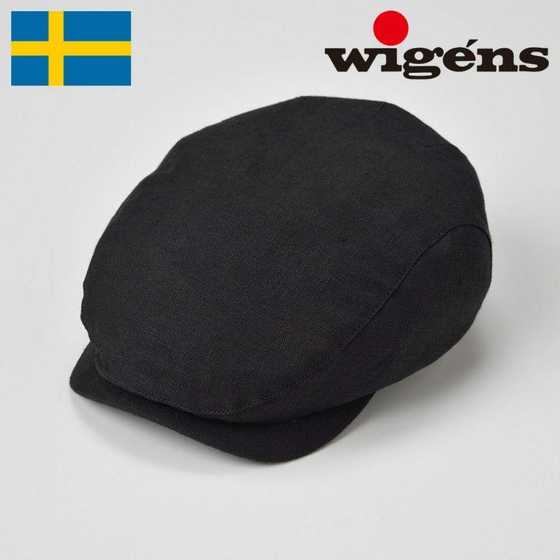帽子 ハンチング Wigens(ヴィゲーンズ) Ivy Contemporary Cap(アイビー コンテンポラリー キャップ)W101288 ブラック