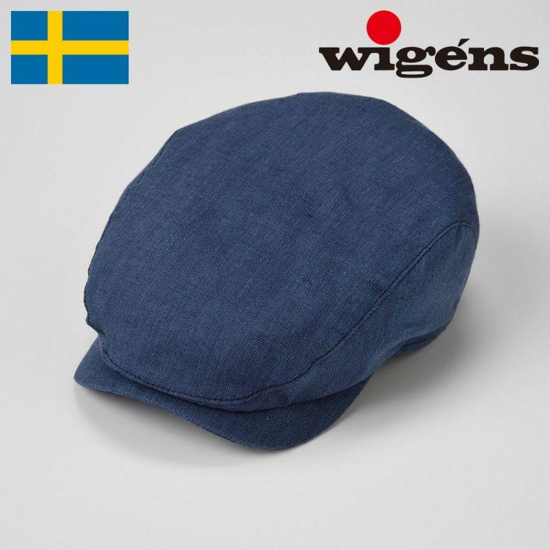 帽子 ハンチング Wigens(ヴィゲーンズ) Ivy Contemporary Cap(アイビー コンテンポラリー キャップ)W101288 ネイビー