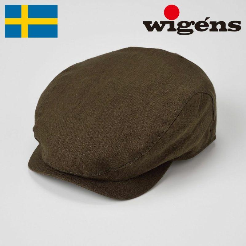 帽子 ハンチング Wigens(ヴィゲーンズ) Ivy Contemporary Cap(アイビー コンテンポラリー キャップ)W101288 オリーブ