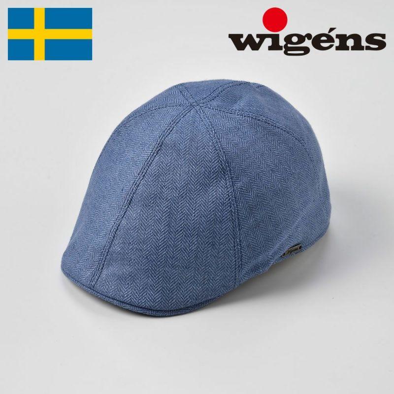 帽子 ハンチング Wigens(ヴィゲーンズ) Pub Cap(パブキャップ)W101246 ブルー